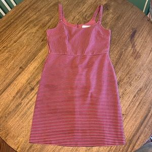 Ann Taylor Loft Striped Sheath Dress